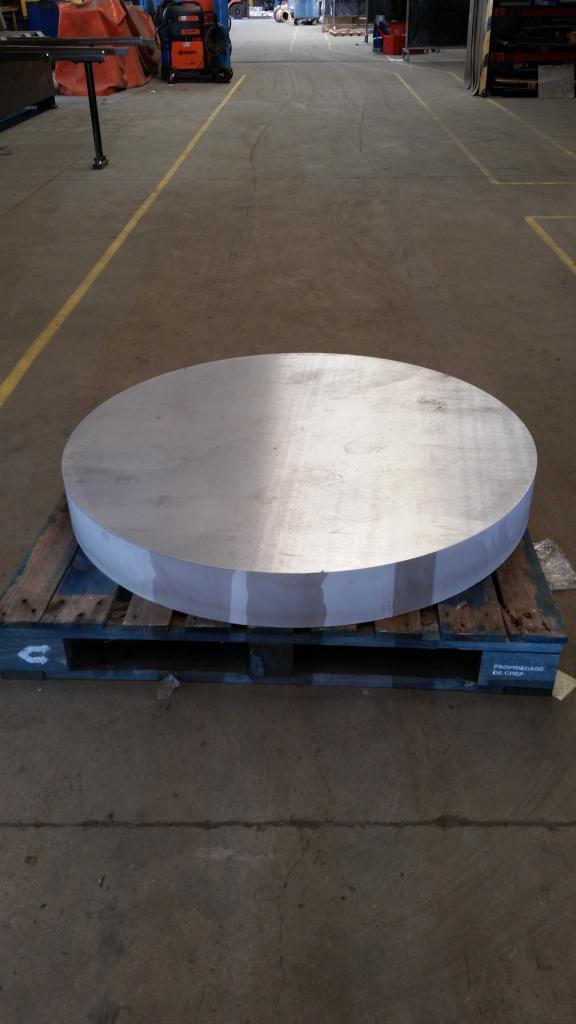 Aluminium - 2017 - 140mm - Disque Ø1200mm