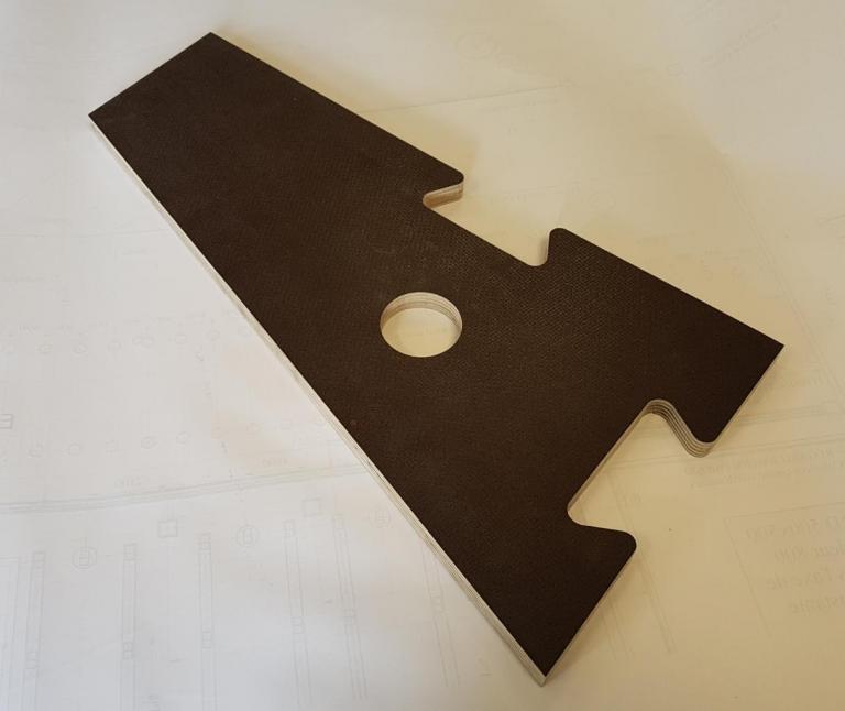 Contreplaqué Anti-dérapant 15mm - Plancher praticable
