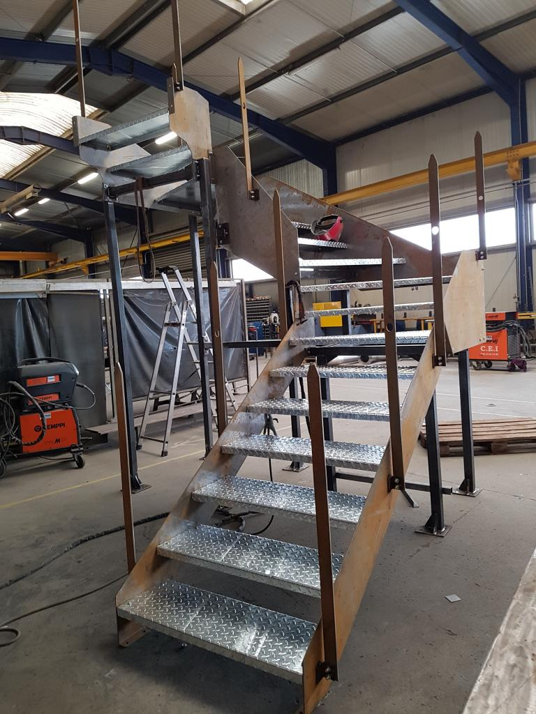 Escalier Intérieur - Quart tournant Industriel