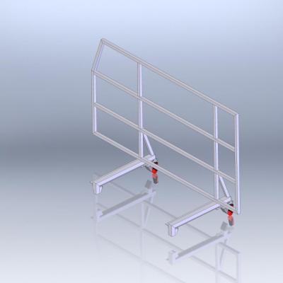 Rambarde Aluminium Démontable (Type Easy Fix)