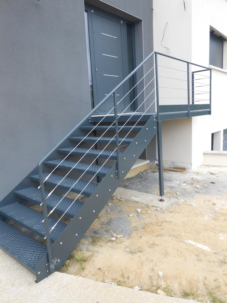 Escaliers for Escalier exterieur plastique