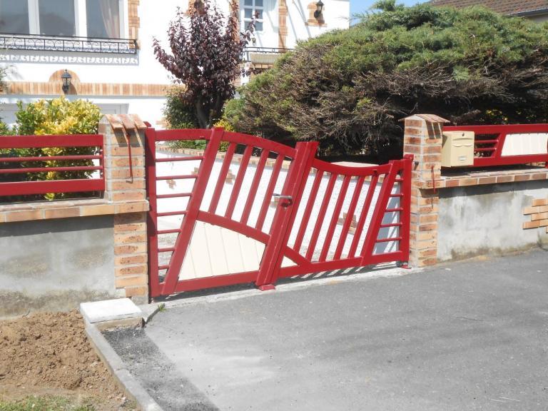 Portail Moderne - Fabrication suivant consignes client