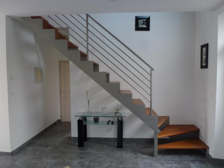 Escalier Intérieur - Quart tournant