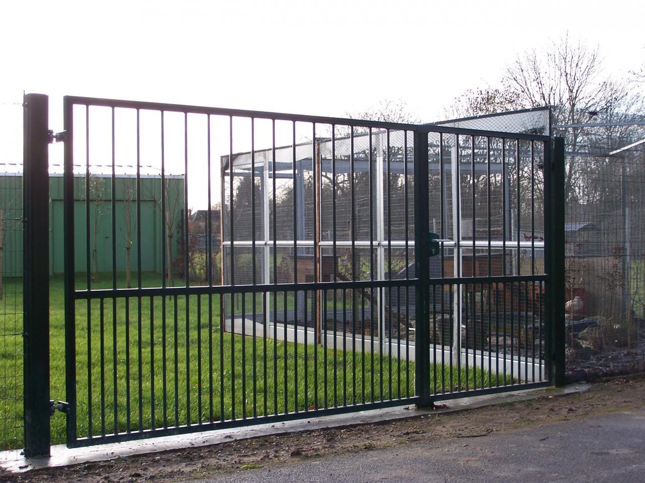 Portail + Porte accès