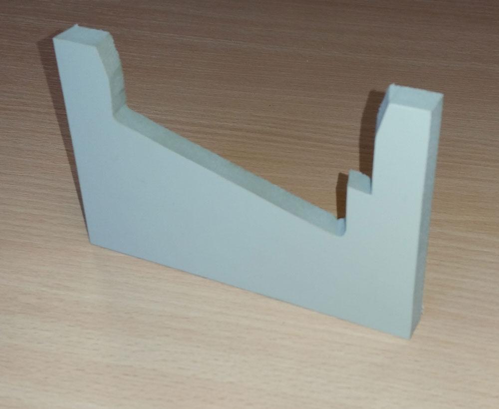 Polyuréthane 90Shores - 10mm - Coupes biaises